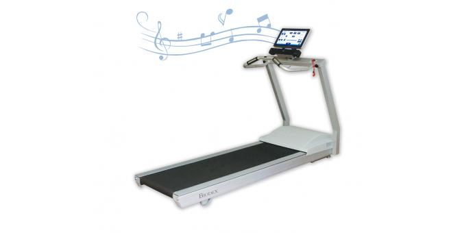 950 400 Gait Trainer 3 Music Therapy Attachment with notes
