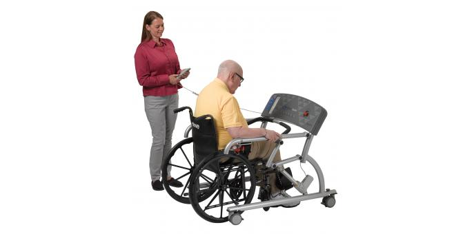 950 570 Mobility Assist patient with PT 1 sitting