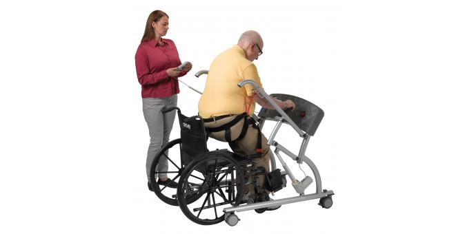 950 570 Mobility Assist patient with PT 2 mid stand
