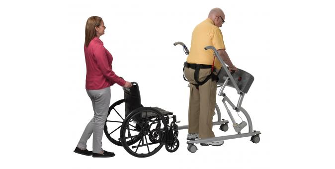 950 570 Mobility Assist patient with PT 4 walking