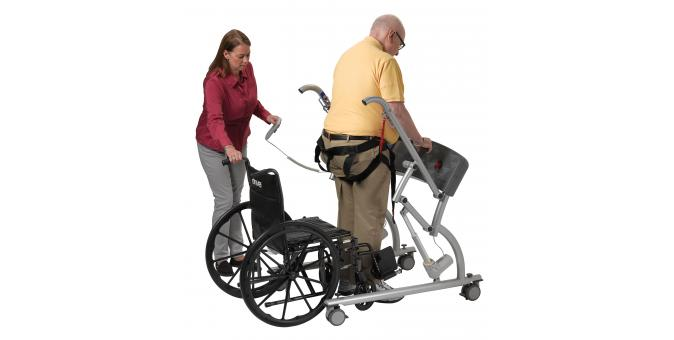 950 570 Mobility Assist patient with PT 3 standing
