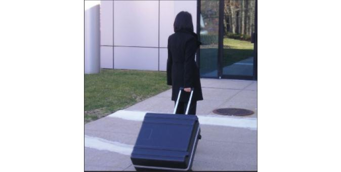 Biodex BioSway Travel case on the move