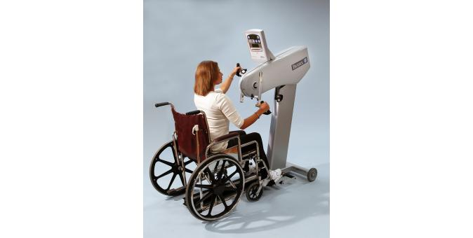 Biodex Upper Body Cycle wheelchair